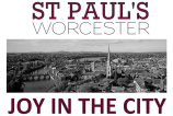 Joy In The City graphic for St Paul's church Worcester