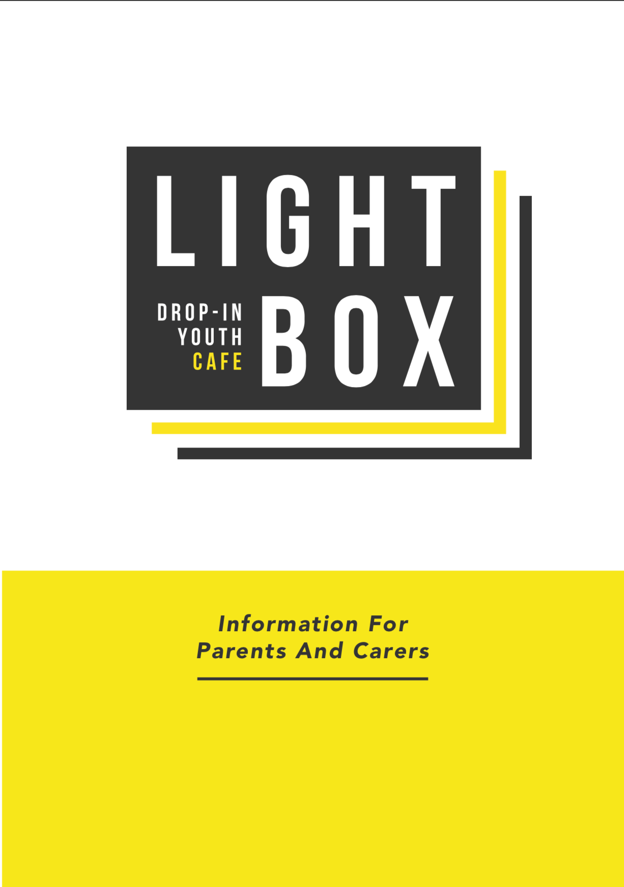 Lightbox info for parents page 1