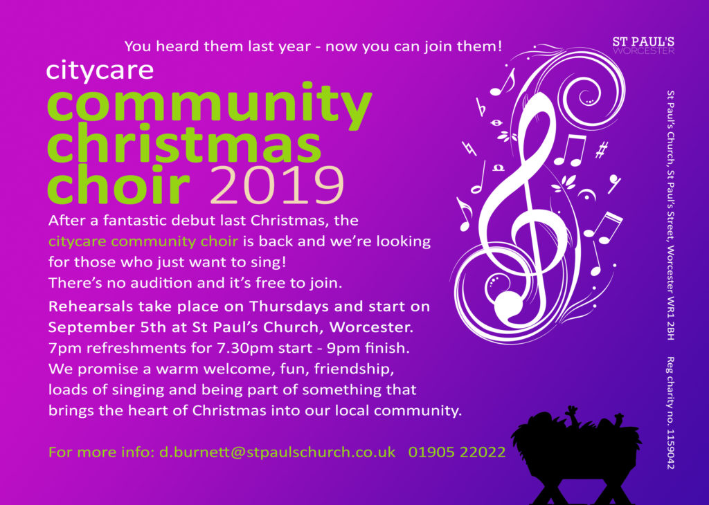Community Christmas choir 2019