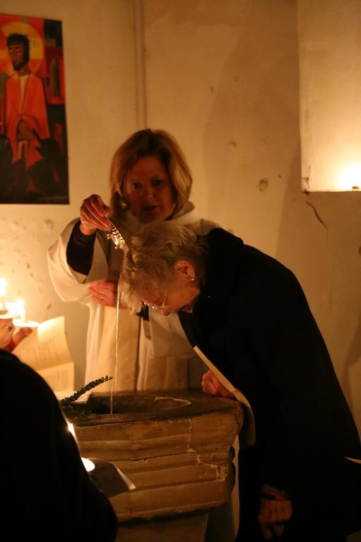 Marjorie's Baptism