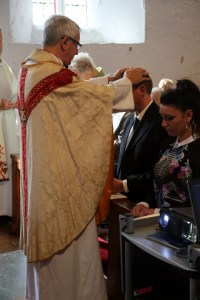 The Bishop confirms John