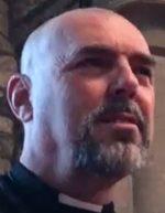 Rev Nigel Rostock's face