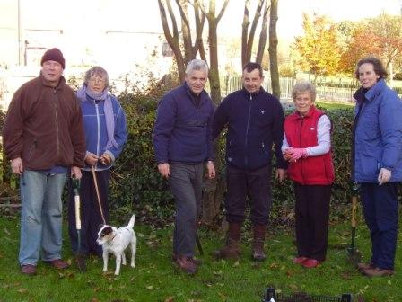 Photo: The Bulb Planting Team
