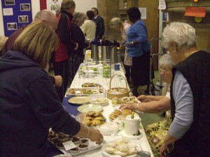 Photo: Cakes and refreshments at the autumn fair