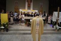 Br Joseph addresses those to be baptized