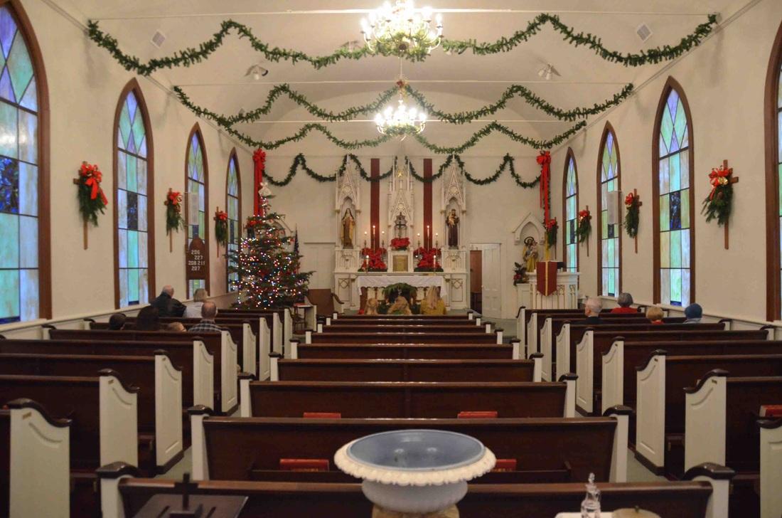 St Teresa S Christmas Decorating