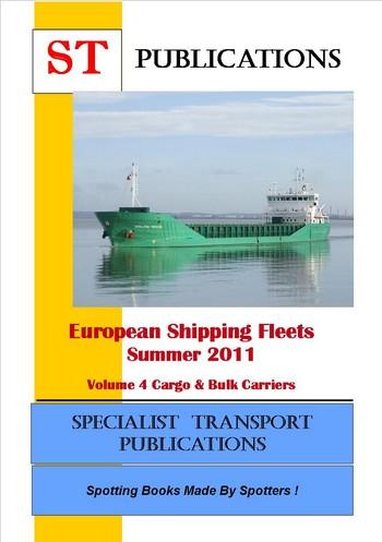 Specialist Transport Publications  European Shipping Fleet  Volume 4  Cargo  Bulk Carriers
