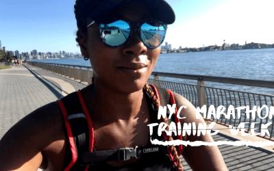 NYC Marathon Training Series: Week 8 | Vlog
