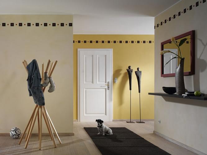 Wandgestaltung Quadrate Beispiele  homeautodesigncom