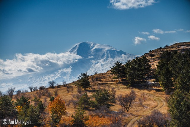 © Ani Melikyan (Kiev, Ukraine). When autumn and winter meet /Near Voghjaberd village/Ararat  is the holy mountain of all Armenians. And though it is situated on Turkish land, every Armenian dreams of Ararat to be back to its people.