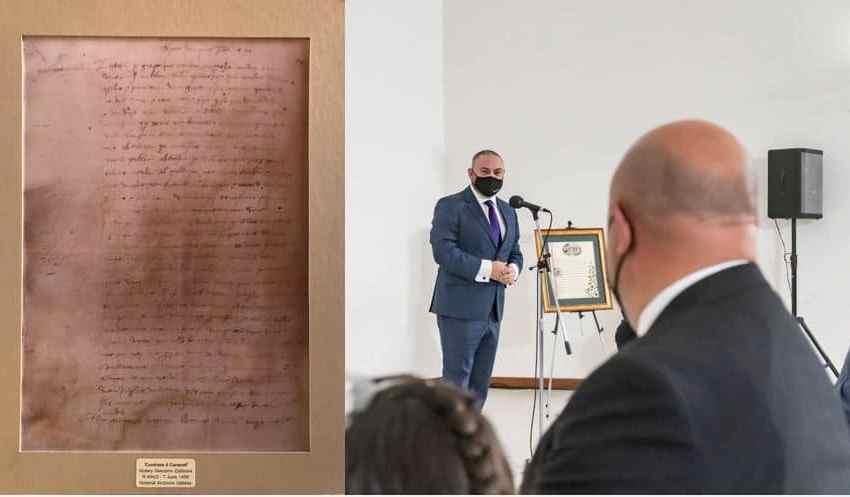 """""""Nittama Li Aktar Politiċi Jsegwu Dan L-Eżempju […] L-Arkivji Huma R-Ruħ Tan-Nazzjon"""" – Joan Abela"""