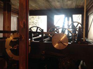 Church clock mechanism