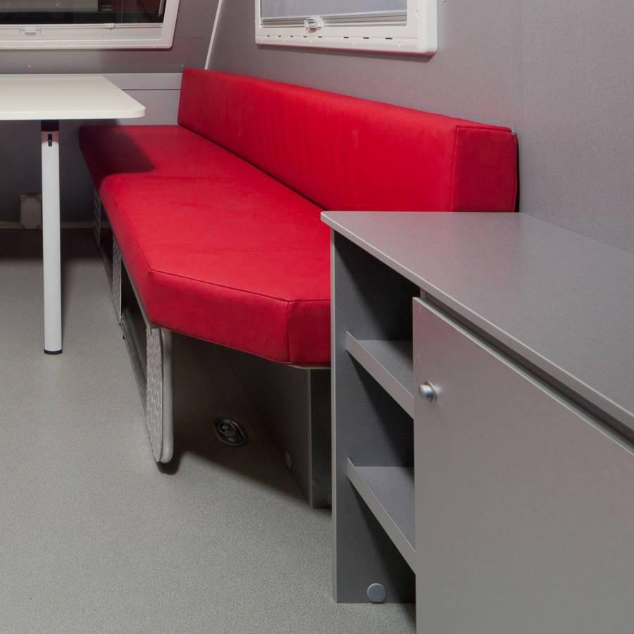 Interieur ontwerp Caravan voor Kip Caravans - STRAEL Productontwerp en Meubelmaker Utrecht