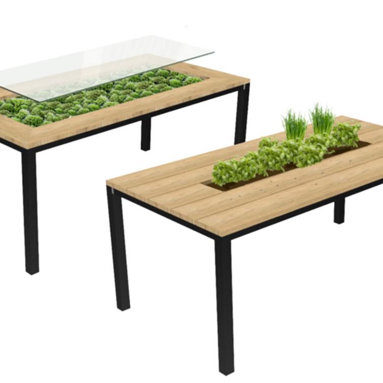 Mostafel / Kruidentafel - STRAEL Productontwerp en Meubelmaker Utrecht