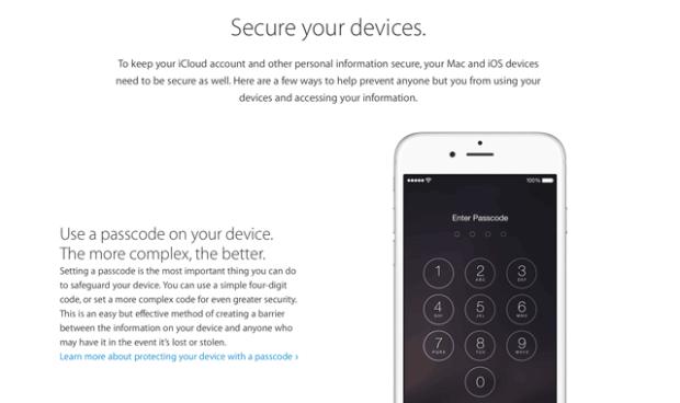 Apple, iOS, iPhone, iPad, Sicherheit, Rechtsanwalt, Strafverteidiger, Backup