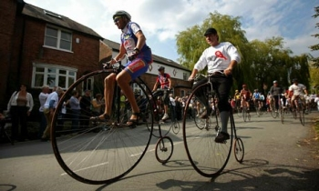 Knutsford Penny Farthing Cycle Race