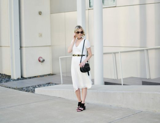 Restricted shoes, white dress 3