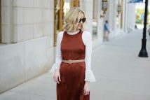 Rust Colored Fall Dresses for Women