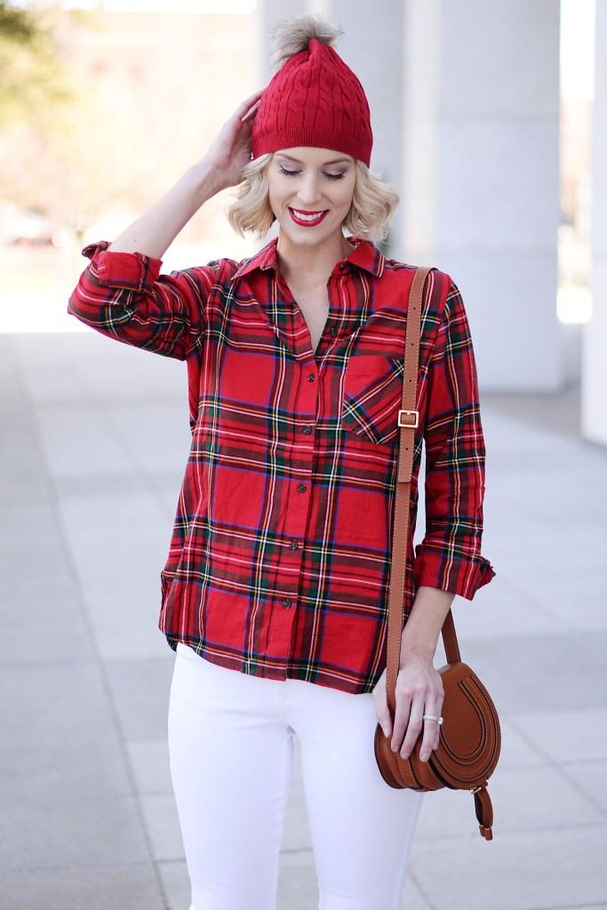 Christmas flannel shirt