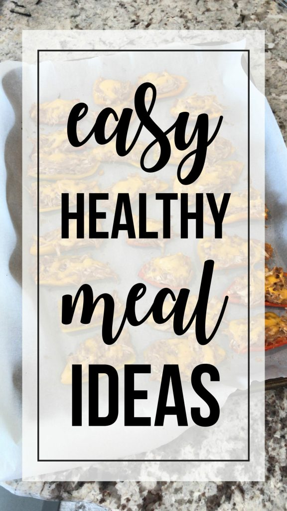 easy healthy meal ideas perfect for the weeknight