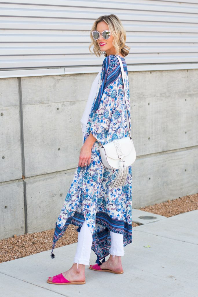 long duster kimono for an easy layer