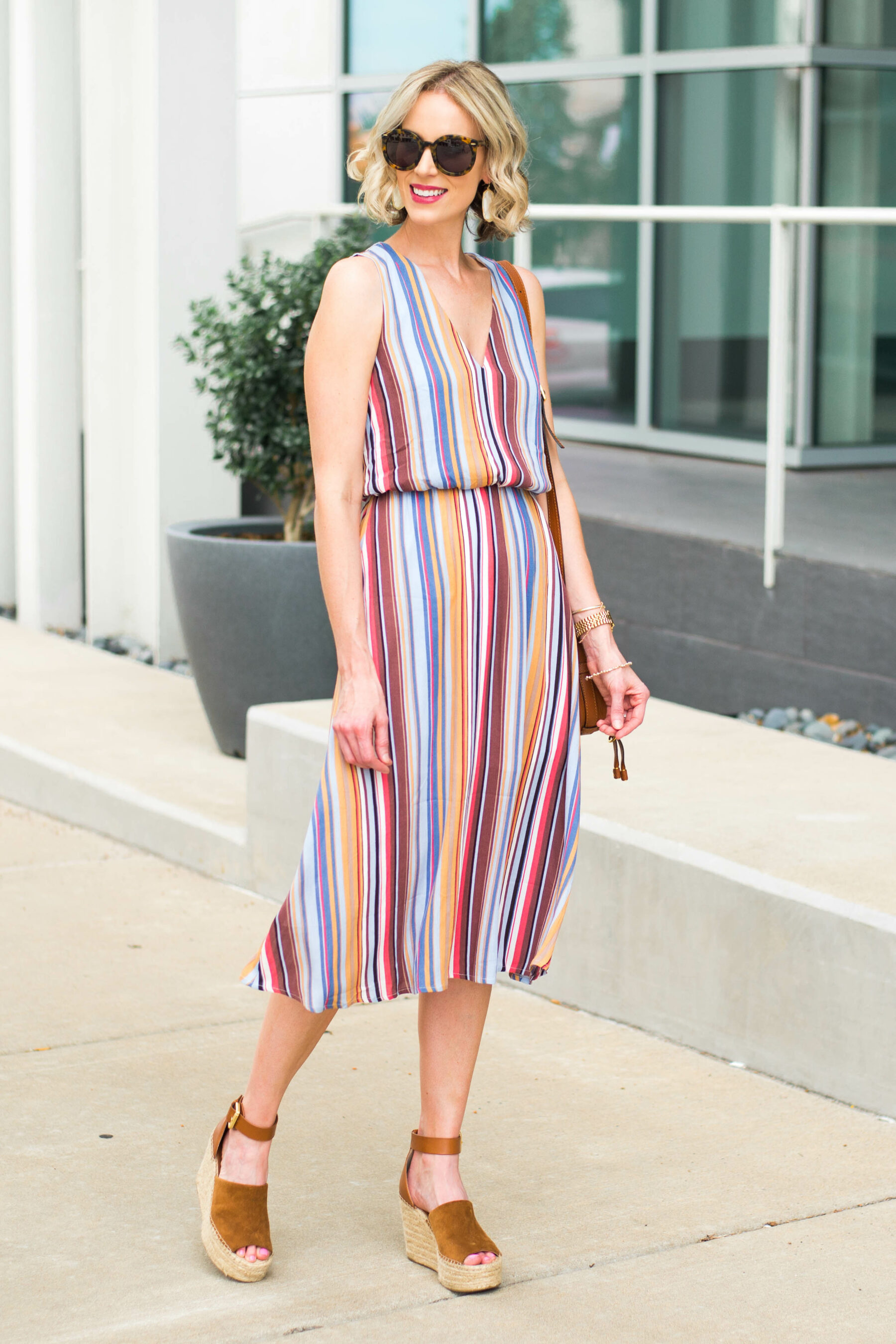 1481ca7a68a1 Striped Midi Dress - Part of the Nordstrom Sale - Straight A Style