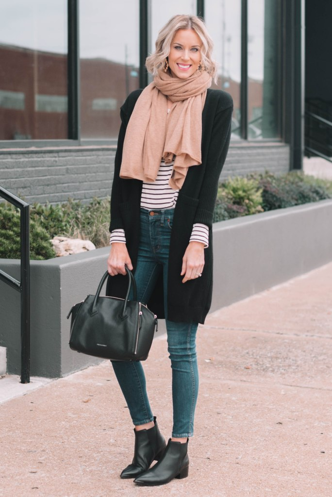 easy outfit combination with all the basics in your wardrobe