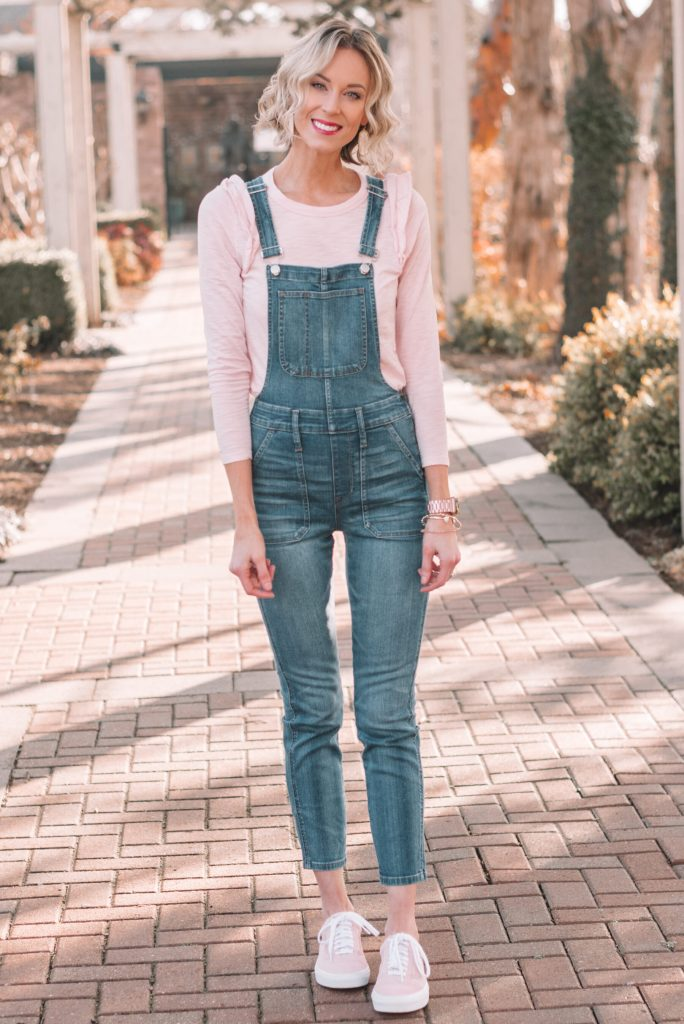 madewel skinny jean overalls, how to wear jean overalls