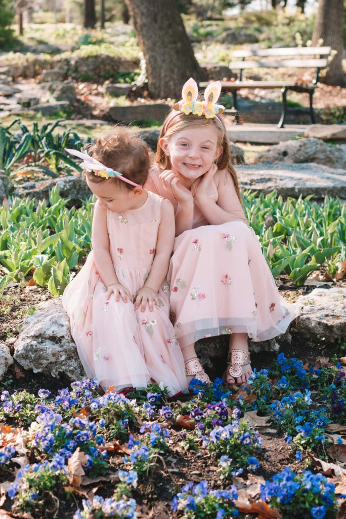 adorable matching dresses for Easter