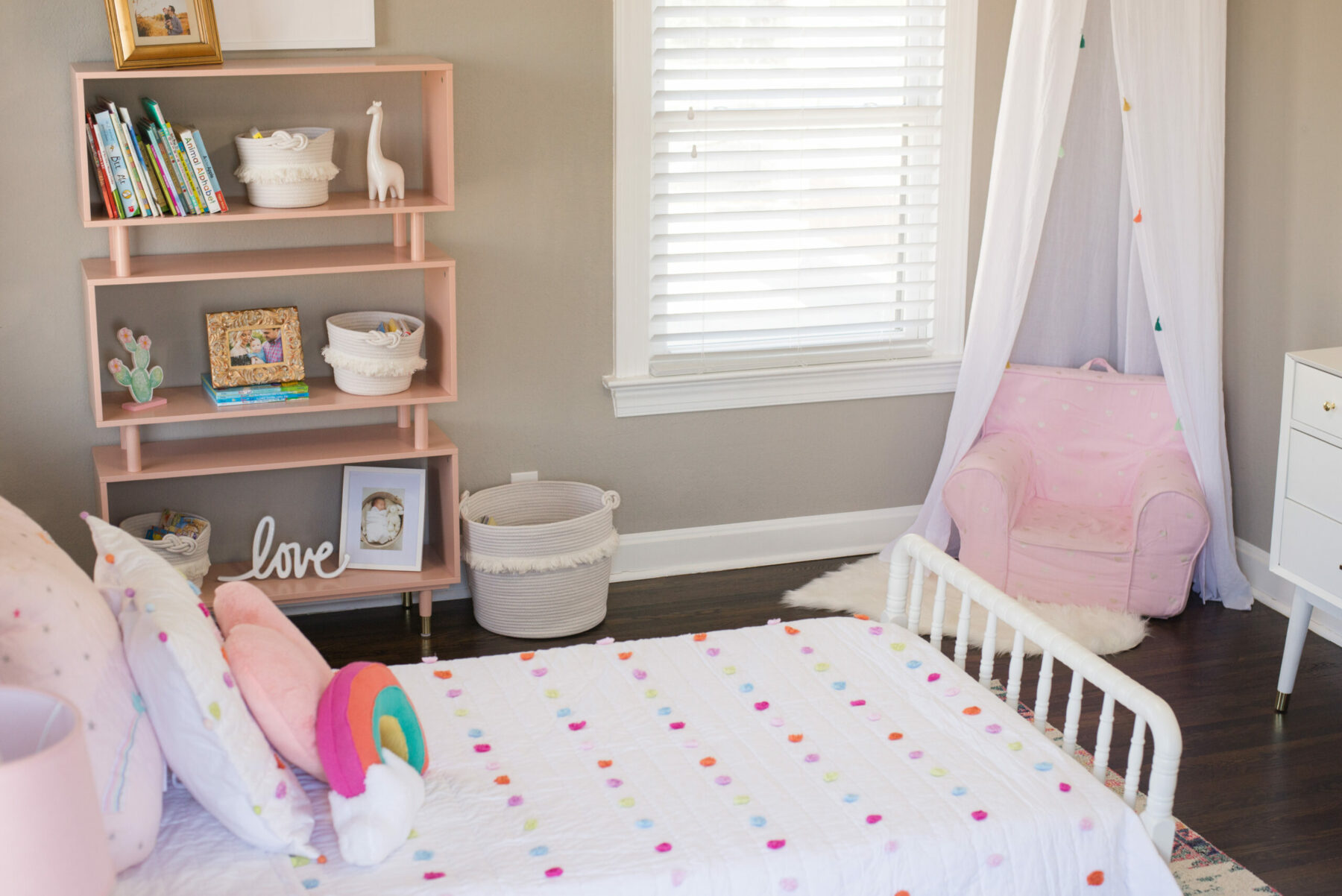 Colorful and Fun Big Girl Room + How We Transitioned ...