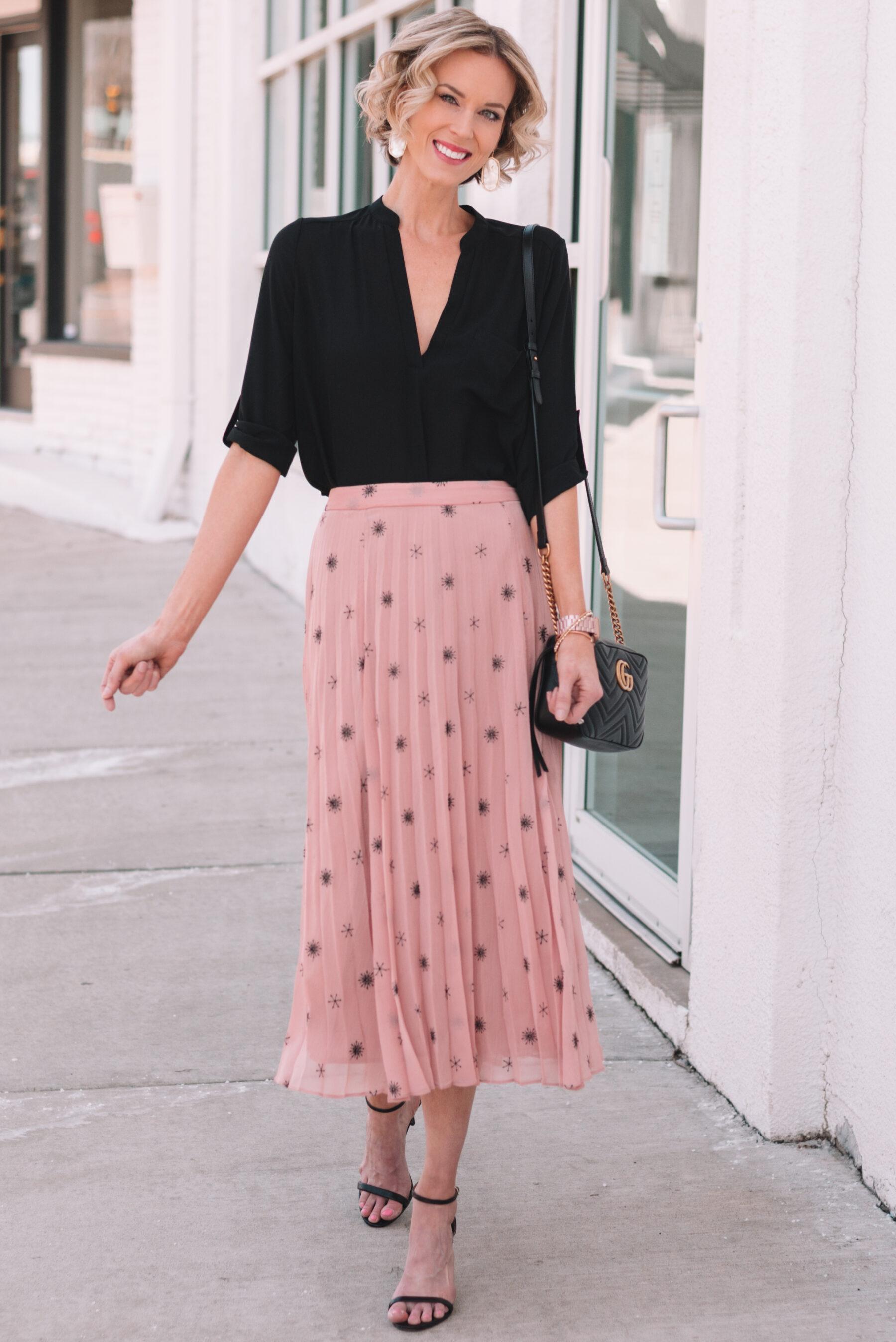 6cfca41286 Dressy Black Midi Skirts | Huston Fislar Photography