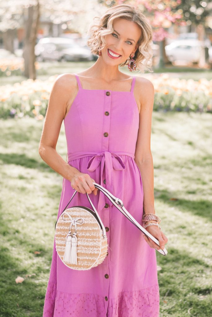summer trends for less, gorgeous $40 midi dress