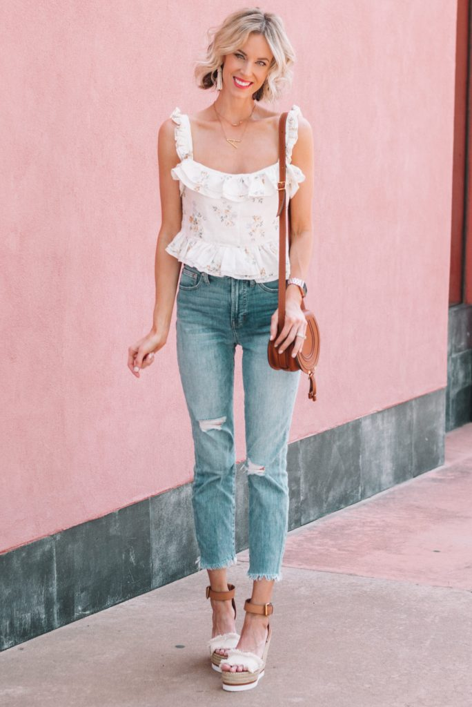 spring date night outfit idea