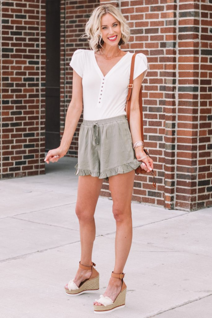 How to Style Pull on Shorts