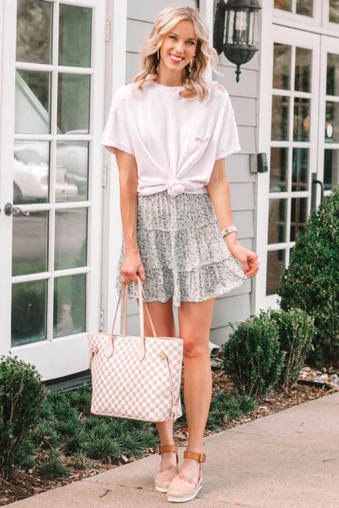 amazon mini skirt worn multiple ways