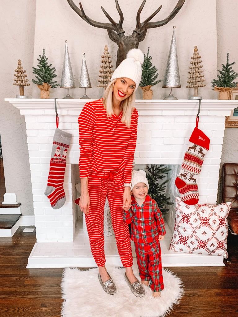 the best matching family Christmas pajamas