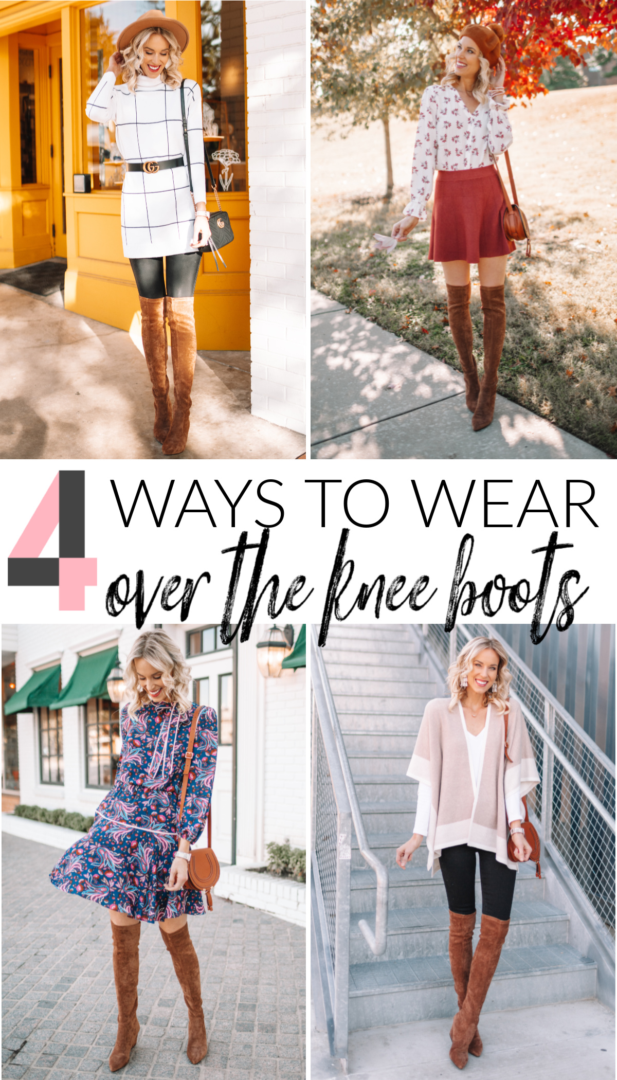 Over the Knee Boot Outfit Ideas Straight A Style