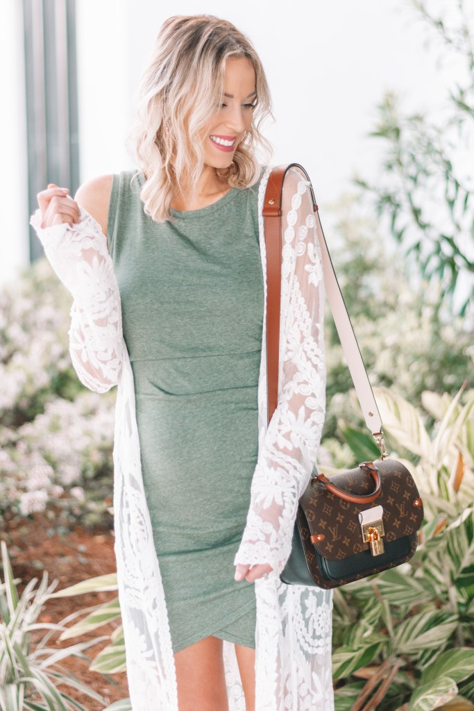 ruched dress for summer