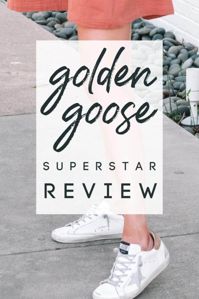 Golden Goose Superstar review, Golden Goose sizing, Golden Goose fit, Golden Goose outfit ideas, where to buy Golden Goose