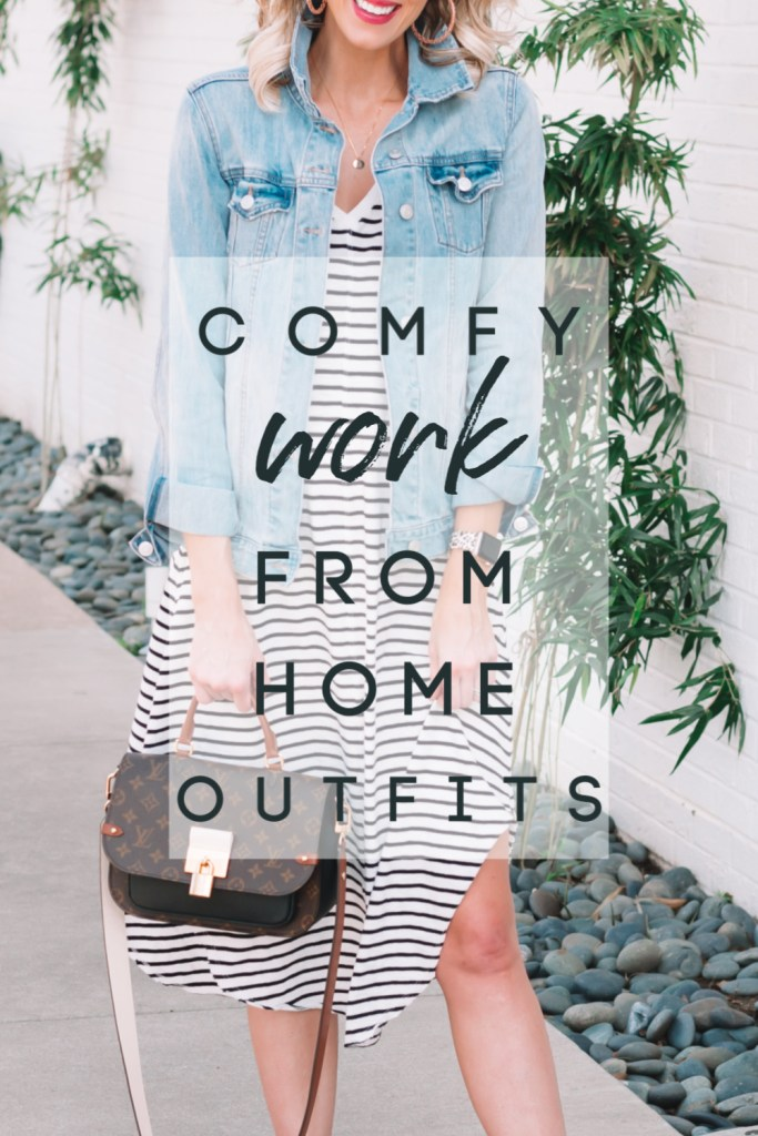 comfy work from home outfit ideas, work from home outfits, meeting approved dresses, comfy dresses, work from home looks
