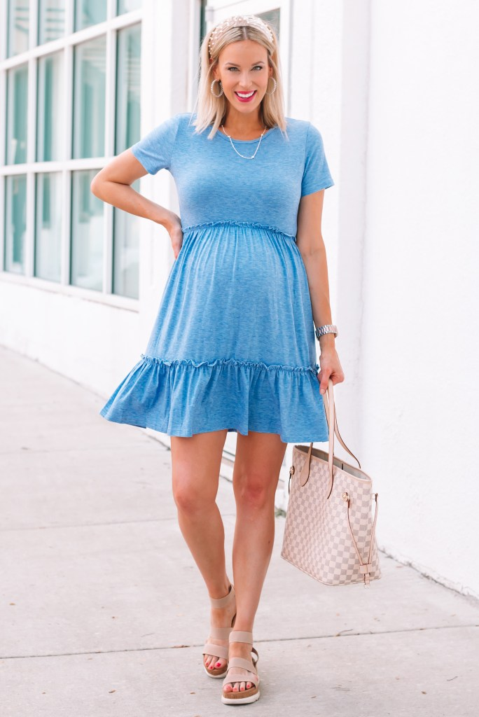 Today I am sharing the best $27 Amazon dress EVER! It is without a doubt my favorite Amazon find to date. The cotton is thick and soft (good quality). It's casual and easy to wear.