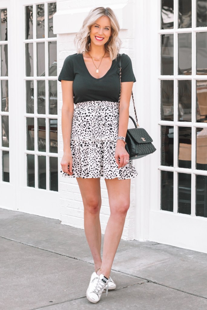 Today I am sharing the best amazon skirt styled three ways in two different colors for you! It's so fun!