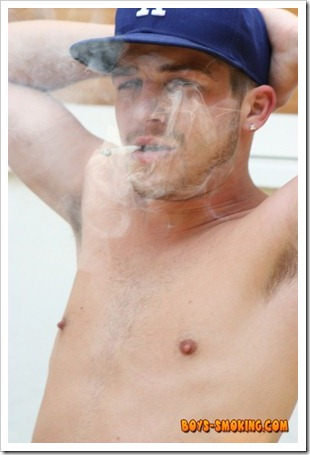 boys smoking - Gorgeous and rugged chainsmoking twink Austin Ried (13)
