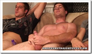 amateur straight guys - triple jerk off (7)