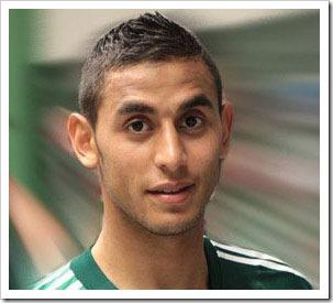 Algerian footballer Faouzi Ghoulam stripping (5)