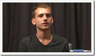 handsome young Cameron in the casting room (2)