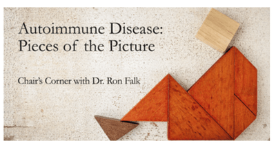 chair's corner podcast autoimmune disease series