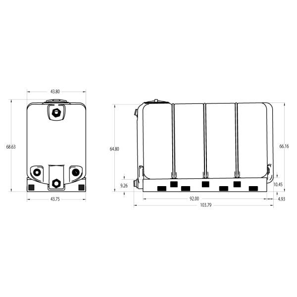 sl1000 storage tank