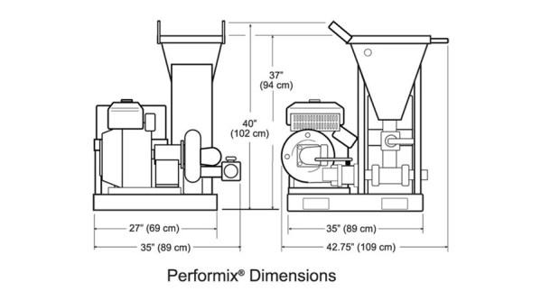 performix mixers specs