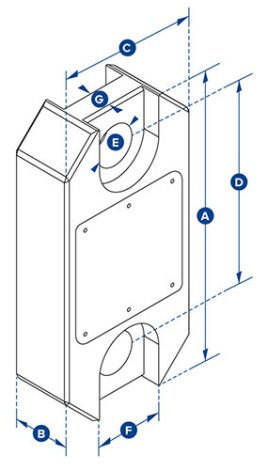 straightpoint load cell dimensions